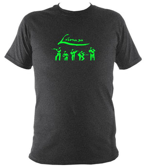 Lúnasa Irish Band T-shirt - T-shirt - Dark Heather - Mudchutney