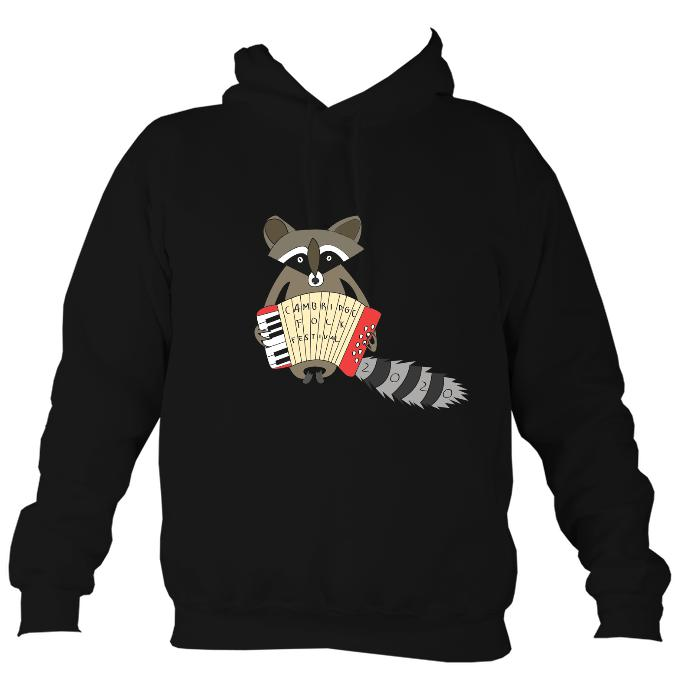 Cambridge Folk Festival - Design 2 - Hoodie-Hoodie-Jet black-Mudchutney