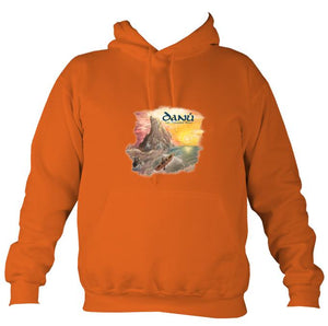 Danú Ten Thousand Miles Hoodie-Hoodie-Burnt orange-Mudchutney