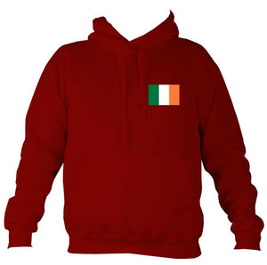 Irish Flag Hoodie-Hoodie-Red hot chilli-Mudchutney