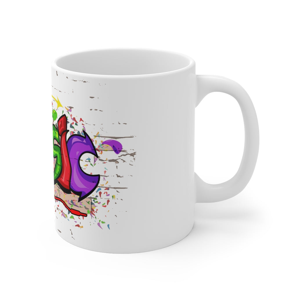 Music Graffiti Artwork Mug 11oz