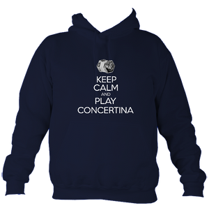 Keep Calm and Play English Concertina Hoodie