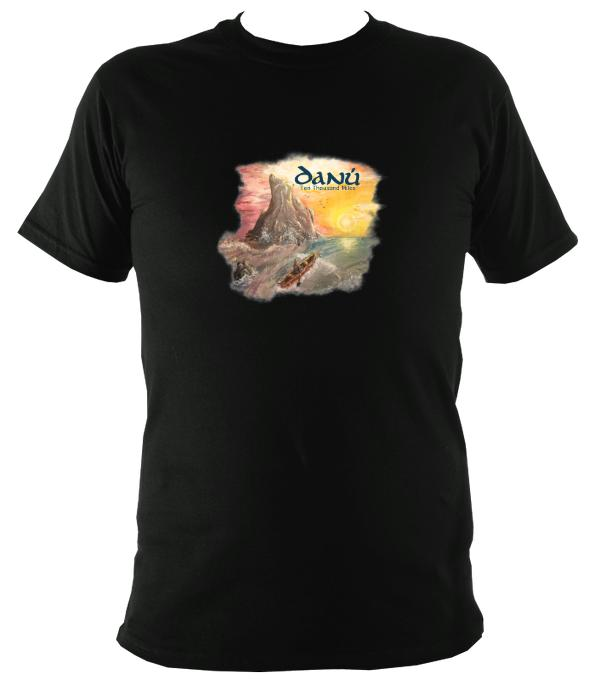 Danú Ten Thousand Miles T-Shirt - T-shirt - Black - Mudchutney