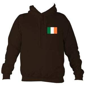 Irish Flag Hoodie-Hoodie-Hot chocolate-Mudchutney