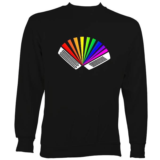 Rainbow Chromatic Accordion Sweatshirt
