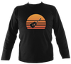 Guitar Sunset Mens Long Sleeve Shirt