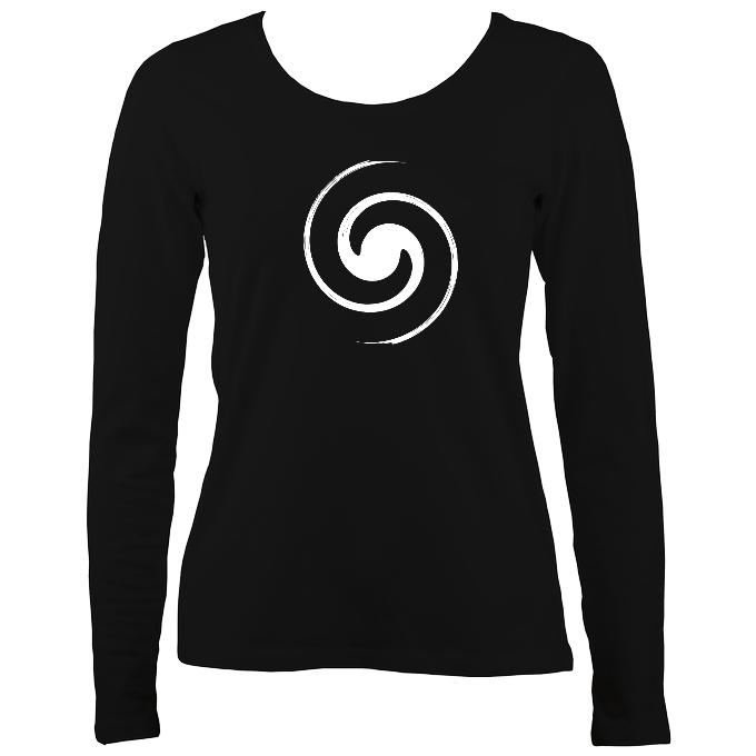 Spiral Ladies Long Sleeve T-shirt