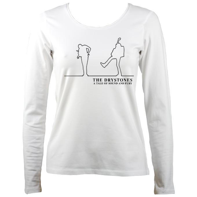 "The Drystones ""Tale of Sound and Fury"" Ladies Long Sleeve Shirt"