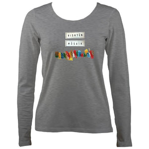 "Vishtèn ""Mosaic"" Ladies Long Sleeve Shirt"