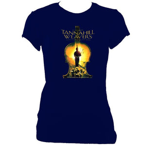 update alt-text with template Tannahill Weavers Ladies Fitted T-Shirt - T-shirt - Navy - Mudchutney