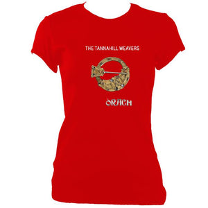 "Tannahill Weavers ""Orach"" Ladies Fitted T-Shirt"