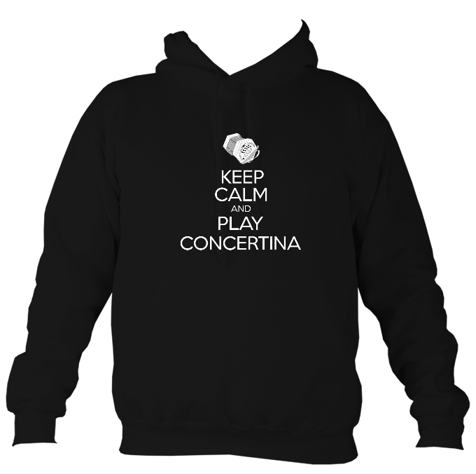 Keep Calm and Play Anglo Concertina Hoodie