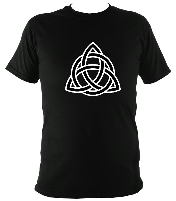 Celtic Triangular Knot T-shirt - T-shirt - Black - Mudchutney