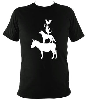 Animal Band T-shirt - T-shirt - Black - Mudchutney