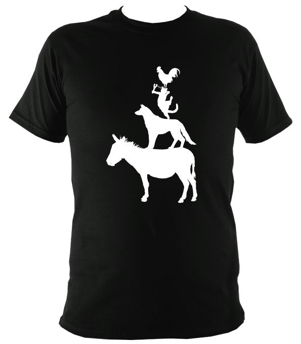 Animal Band T-shirt - T-shirt - Dark Chocolate - Mudchutney