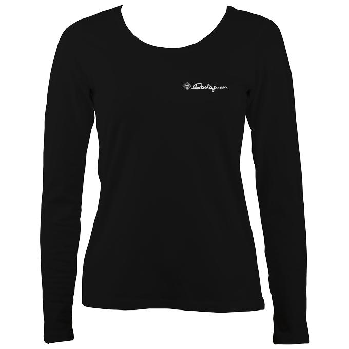 Castagnari Logo Ladies Long Sleeve Shirt