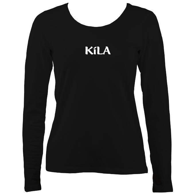 Kila Ladies Long Sleeve Shirt