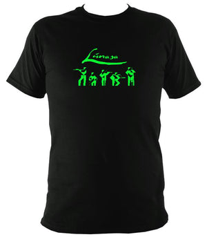 Lúnasa Irish Band T-shirt - T-shirt - Black - Mudchutney