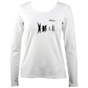 "Lúnasa ""Lá Nua"" Ladies Long Sleeve shirt"