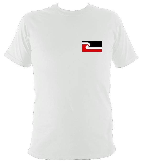 Maori Flag T-shirt - T-shirt - Light Blue - Mudchutney