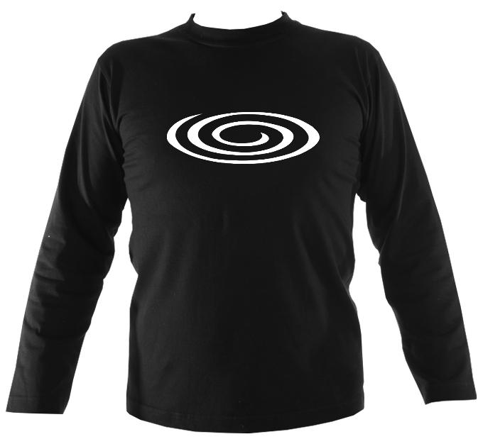 Flattened Spiral Mens Long Sleeve T-shirt