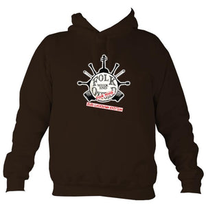 "Folk Weekend: Oxford ""2020 Lockdown Edition"" Hoodie-Hoodie-Hot chocolate-Mudchutney"