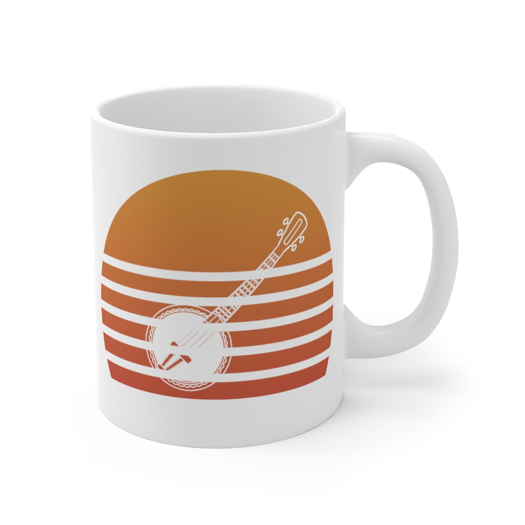 Banjo Sunset Mug 11oz