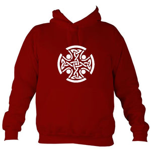 Celtic Round Hoodie-Hoodie-Red hot chilli-Mudchutney