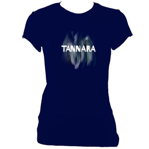 update alt-text with template Tannara Ladies Fitted T-shirt - T-shirt - Navy - Mudchutney