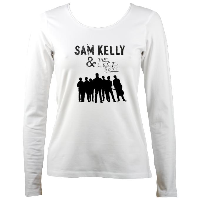 Sam Kelly and the Lost Boys Ladies Long Sleeve Shirt