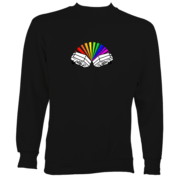 Rainbow Concertina Sweatshirt