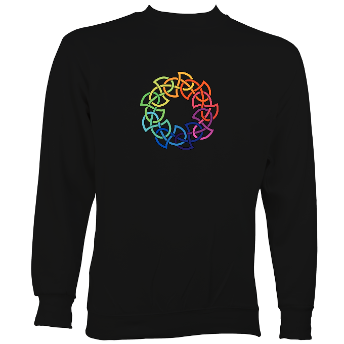 Rainbow Celtic Knot Sweatshirt