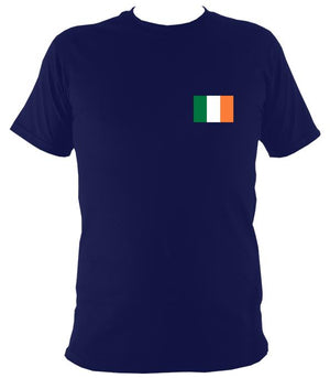 Irish Flag T-shirt - T-shirt - Navy - Mudchutney