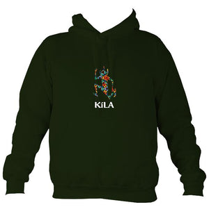 Kila After Eight Hoodie-Hoodie-Forest green-Mudchutney