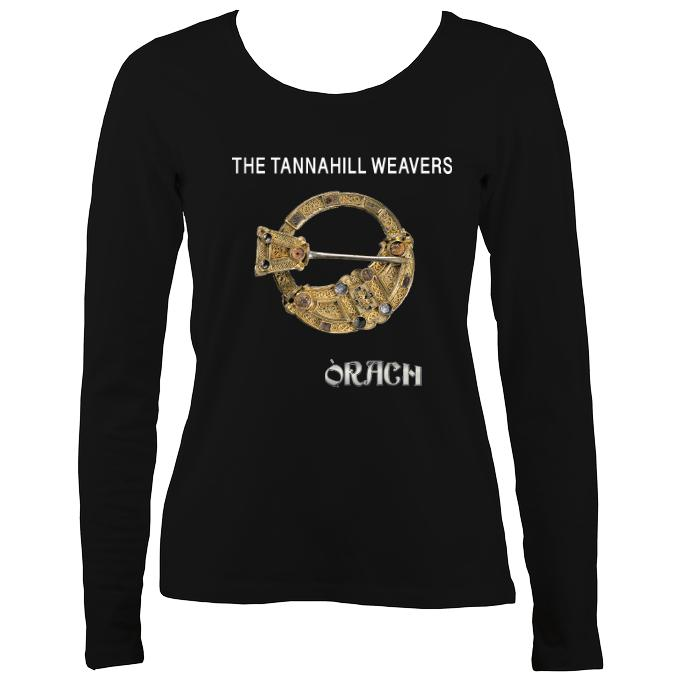 "Tannahill Weavers ""Orach"" Ladies Long Sleeve Shirt"