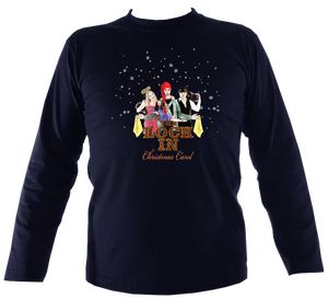 "The Demon Barbers ""The Lock In"" Christmas Carol Mens Long Sleeve Shirt"