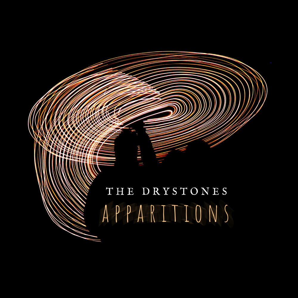 "update alt-text with template The Drystones ""Apparitions"" Ladies Fitted T-shirt - T-shirt - Black - Mudchutney"