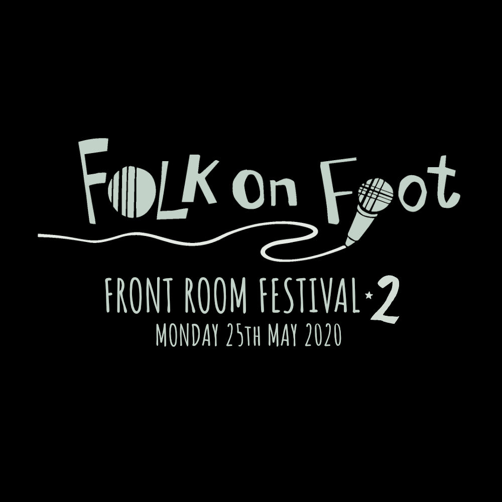 "Folk on Foot ""Front Room Festival 2"" Hoodie-Hoodie-Mudchutney"