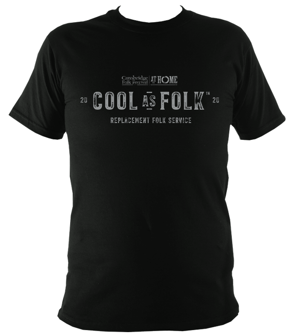 Cambridge Folk Festival Cool as Folk T-shirt