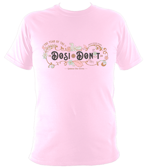 Cambridge Folk Festival Dosi-Don't T-shirt