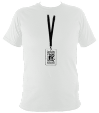 Cambridge Folk Festival Access All Areas T-shirt in white