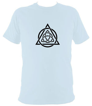 Triqueta Celtic Motif T-shirt - T-shirt - Light Blue - Mudchutney