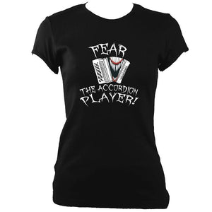 Fear the CBA Player Ladies Fitted T-shirt-Women's fitted t-shirt-Mudchutney