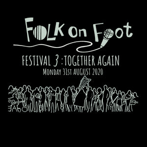 "Folk On Foot 3 ""Together Again"" T-shirt"