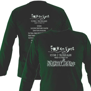 "Folk On Foot 3 ""Together Again"" Mens Long Sleeve Shirt"