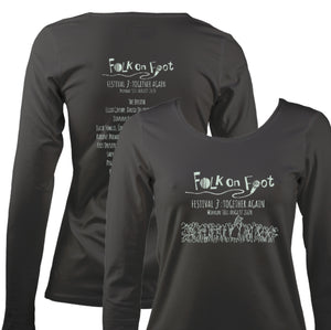 "Folk On Foot 3 ""Together Again"" Womens Long Sleeve Shirt"
