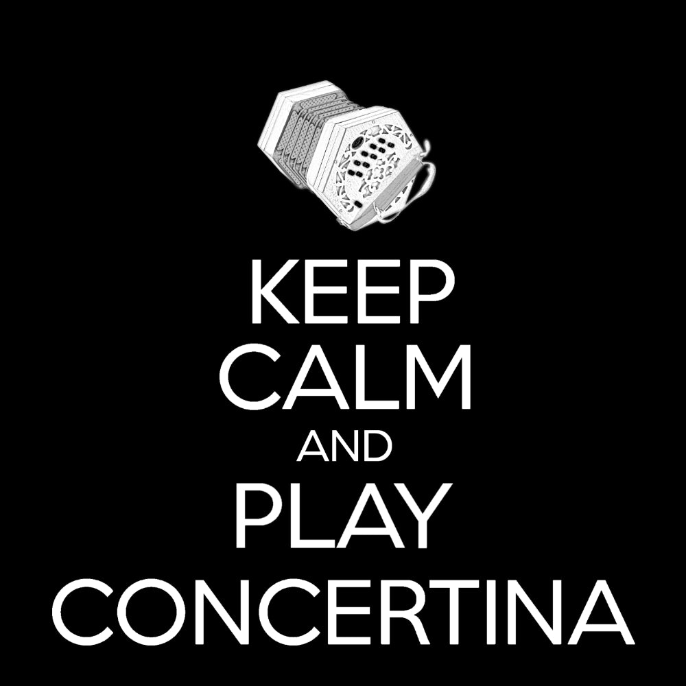 Keep Calm and Play Anglo Concertina Sweatshirt