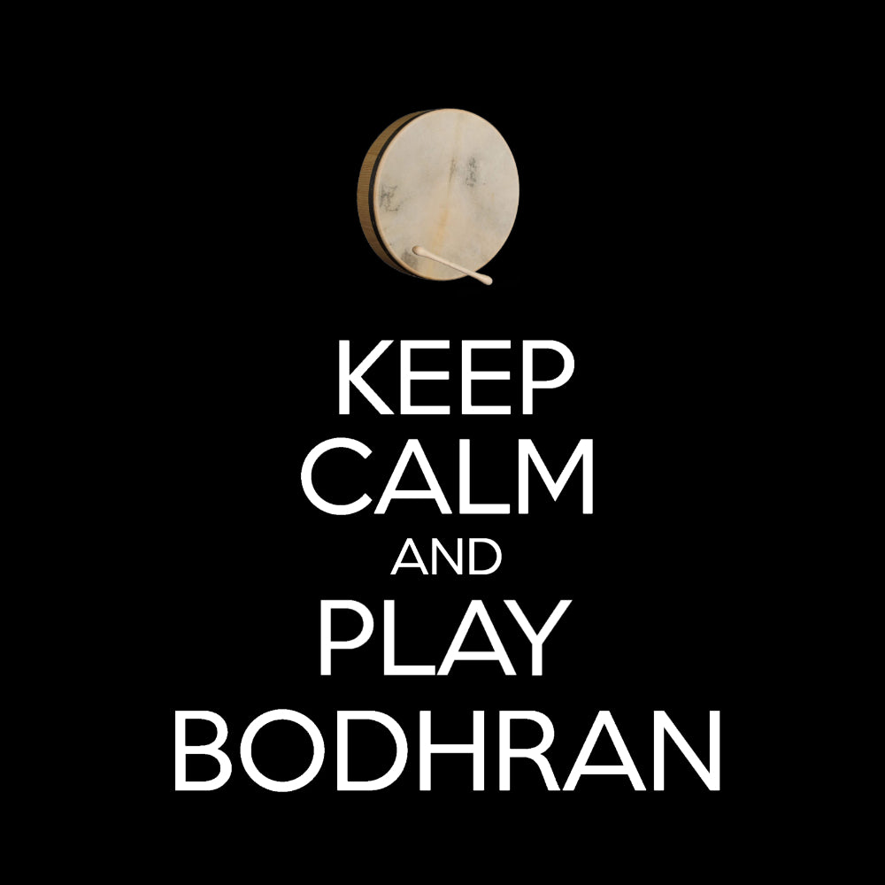 Keep Calm & Play Bodhran Racerback Vest
