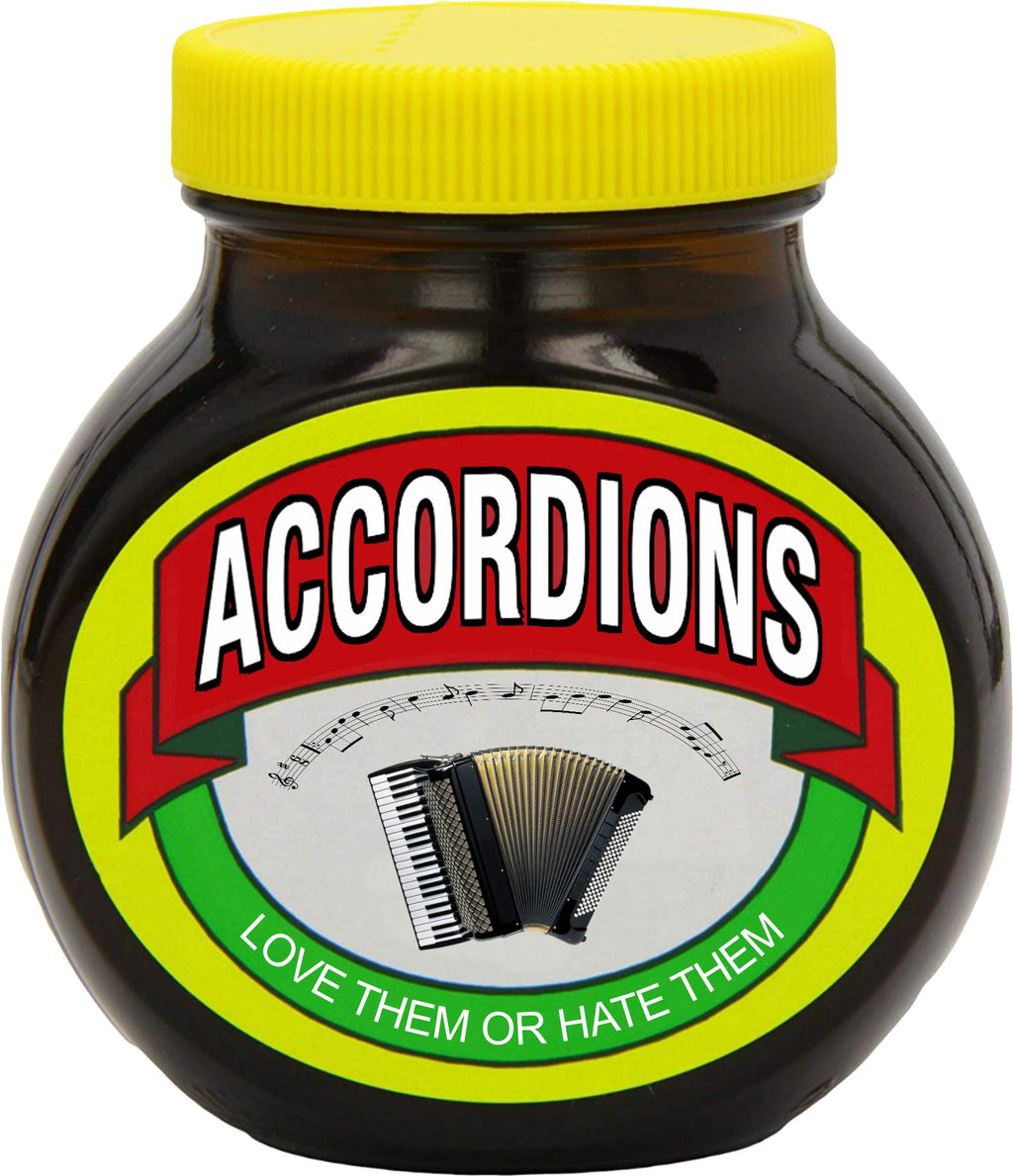 Accordions - Love or Hate them T-shirt - T-shirt - - Mudchutney