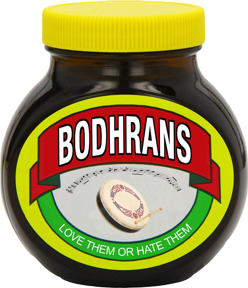 Bodhrans - Love or Hate them T-shirt - T-shirt - - Mudchutney